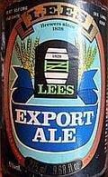 J.W. Lees Export Ale - Premium Bitter/ESB