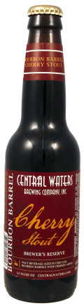 Central Waters Brewers Reserve Bourbon Barrel Cherry Stout