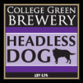 College Green Headless Dog
