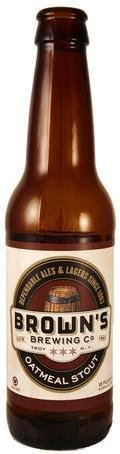 Brown�s Oatmeal Stout