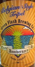Green Flash 3rd Anniversary Belgian-Style Tripel