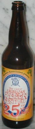 Boulder Beer The GABF 25th Year Beer