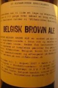 �lfabrikken Belgisk Brown Ale - Brown Ale