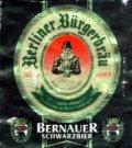 Berliner B�rgerbrau Bernauer Schwarzbier