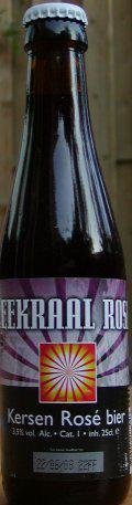 Zeekraal Rose - Fruit Beer