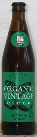 Westons Organic Vintage Cider