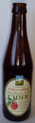 Waitrose Leckford Cox�s Apple Vintage Cider - Cider