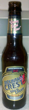 Mountain Crest Gold Lager