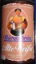 B�rgerbr�u Augsburg Alte Weisse