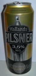 Hallands Pilsner 3.5% - Pilsener