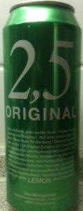 2.5 Original Lemon
