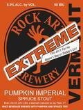 Rock Art Extreme Pumpkin Imperial Spruce Stout