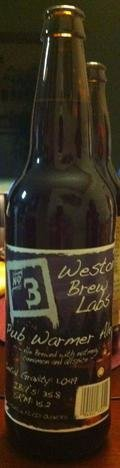 Weston Brew Labs No.3 Pub Warmer Winter Ale