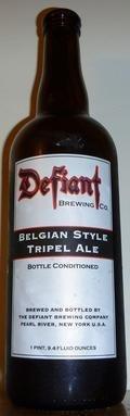 Defiant Belgian Style Tripel Ale