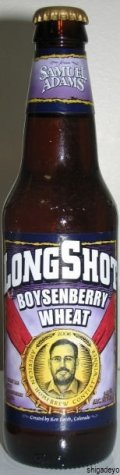 Samuel Adams LongShot Boysenberry Wheat  - Fruit Beer