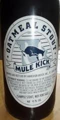 Mule Kick Oatmeal Stout - Sweet Stout