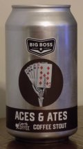 Big Boss Aces & Ates Coffee Stout