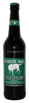 White Dog Tall Dark Stranger