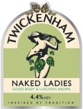 Twickenham Naked Ladies - Golden Ale/Blond Ale
