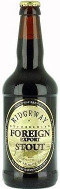Ridgeway Foreign Export Stout