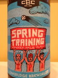Cambridge Spring Training IPA
