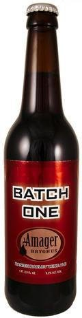 Amager Batch One - American Strong Ale