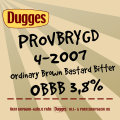 Dugges Provbrygd 4-2007 - OBBB - Bitter