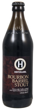 Hinterland Bourbon Barrel Stout - Stout