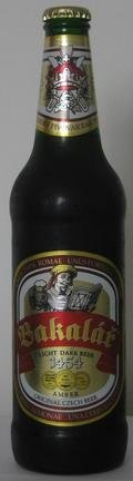 Bakal�ř Polotmav� V�čepn� 11� (Light Dark Beer) - Polotmav�