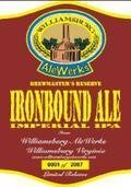 AleWerks Brewmasters Reserve Ironbound Ale - Imperial/Double IPA