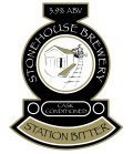 Stonehouse Station Bitter