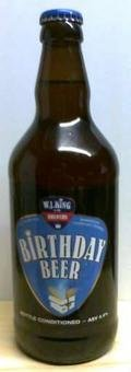 WJ King Birthday Beer