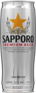 Sapporo Draft Beer / Premium Beer