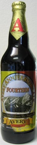 Avery Anniversary Fourteen - American Strong Ale