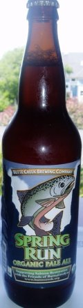 Butte Creek Spring Run Organic Pale Ale