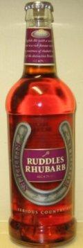 Ruddles Rhubarb - Bitter