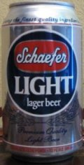 Schaefer Light - Pale Lager