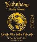 Kuhnhenn Double Rice India Pale Ale (DRIPA) - Imperial/Double IPA