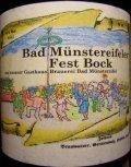 Bad M�nstereifeler Fest Bock