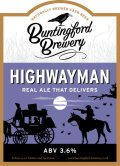 Buntingford Highwayman - Bitter