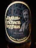 Mylius-Erichsen Pilsner Jomfru Tidsfordriv