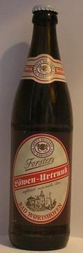 Bad W�rishofer L�wenbr�u Forsters L�wen-Urtrunk