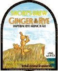 Short�s Ginger in the Rye - Specialty Grain