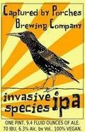 Captured by Porches Invasive Species IPA