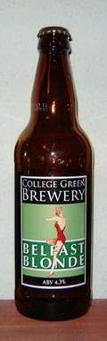 College Green Belfast Blonde