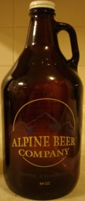 Alpine Beer Company Nickel Stout - Stout