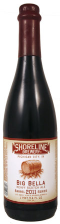 Shoreline Big Bourbon Series Big Bella Scotch Ale