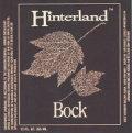 Hinterland Bock - Dunkler Bock