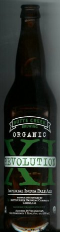 Butte Creek Organic Revolution XI Imperial IPA