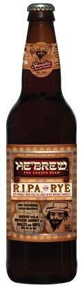 HeBrew Bittersweet Lennys R.I.P.A on Rye (Rye Whiskey Barrel Aged) - Imperial/Double IPA